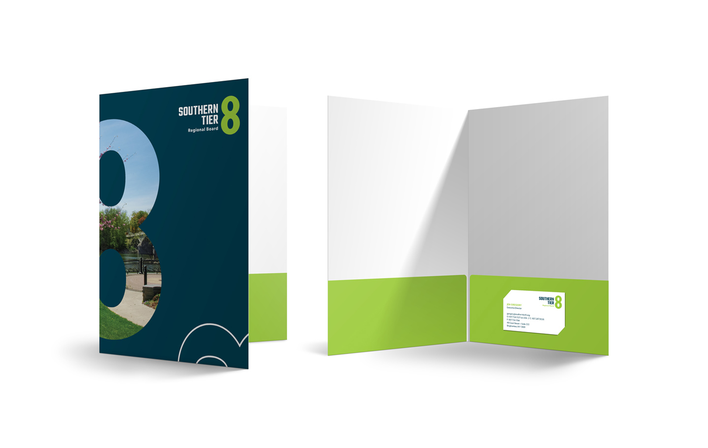 Southern Tier 8 Regional Board folder mockup