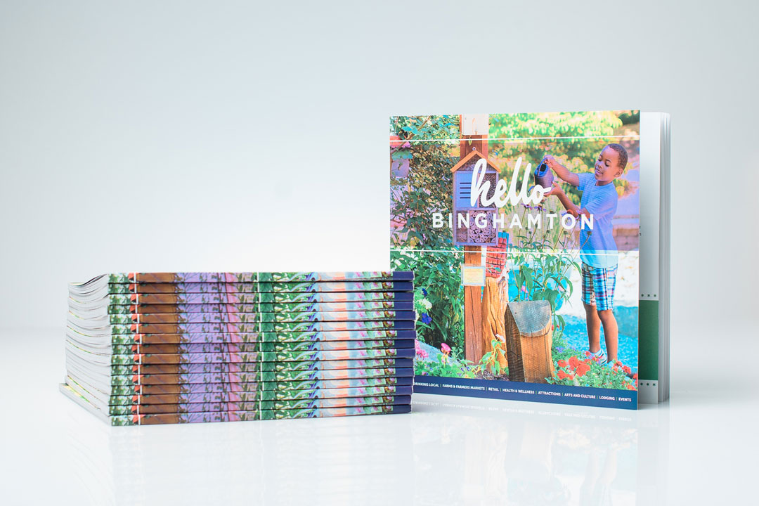 Hello Binghamton book cover happy child