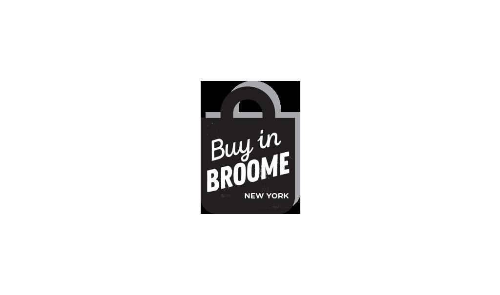 Buy in Broome New York logo