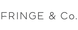 Fringe and Co fashion brand logo concept 3