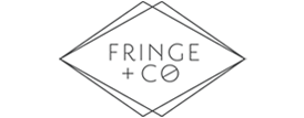 Fringe and Co fashion brand logo concept 4