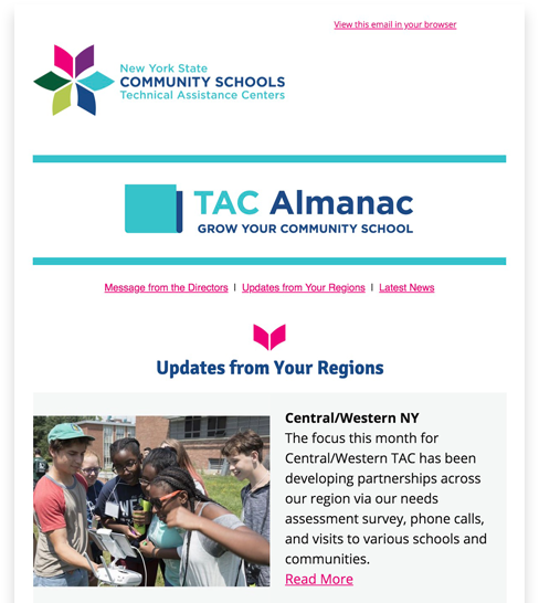 TAC Almanac Newsletter