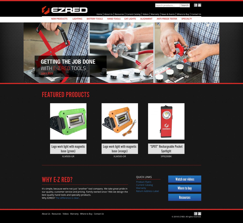 EZRED old website