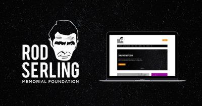 Rod Serling Memorial Foundation logo and website