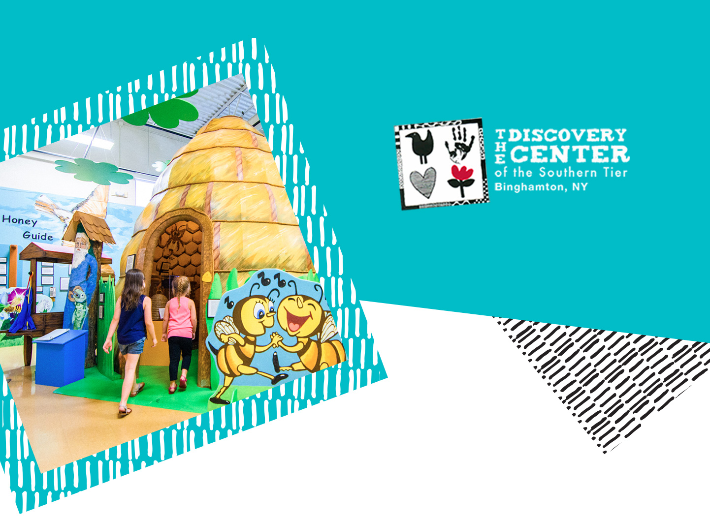 The Discovery Center logo