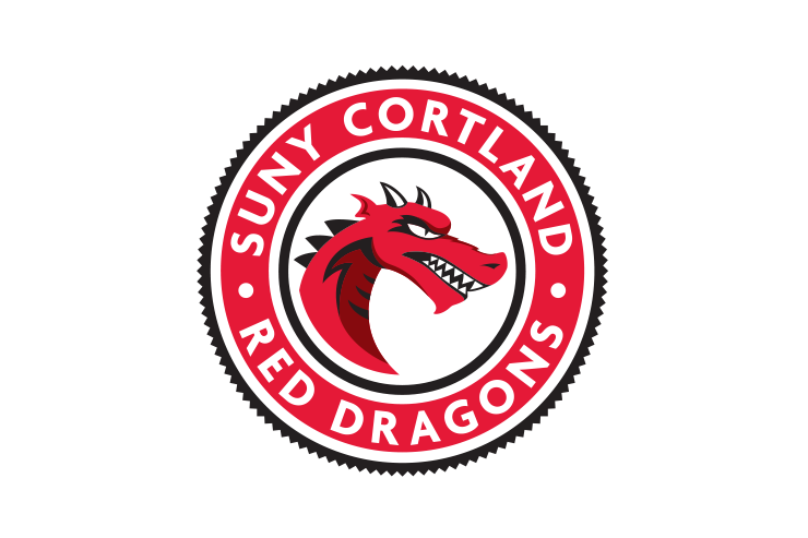 SUNY Cortland Red Dragons badge