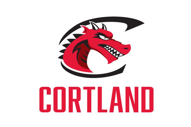 SUNY Cortland college branding block logo