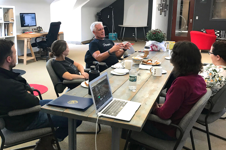 John Bielenberg with Idea Kraft team