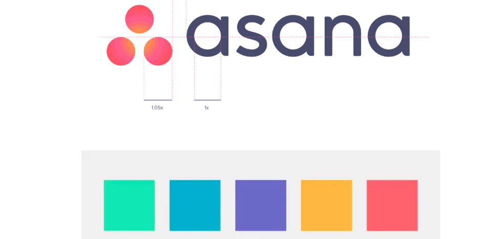 Asana Color Palette