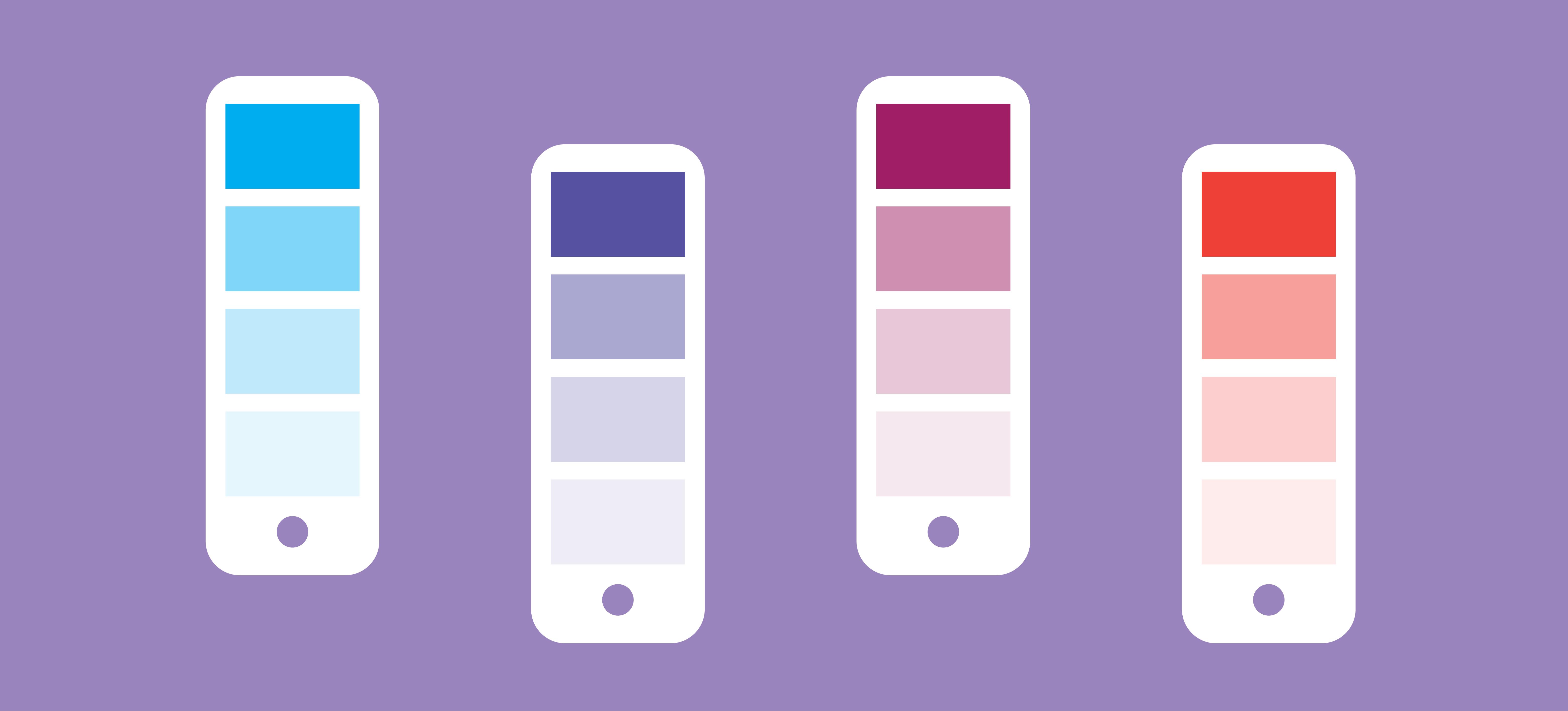 Header Color Palette